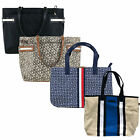 Tommy Hilfiger Womens Purse Tote Shoulder Bag Logo Pocketbook Travel Shopper New