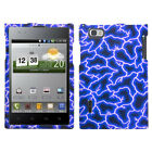 Design Snap on Case +Screen Film Cover For Intuition VS950 or Optimus Vu