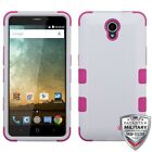 For ZTE Avid Plus/Prestige/Cheers TUFF Hybrid Shockproof Phone Protector Cover