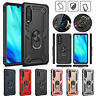 For Huawei P30 Pro Lite P Smart 2019 Y7 Rugged Case Shockproof Ring Stand Cover