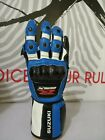 Motorbike Motorcycle Leather Riding Racing Suzuki Gsxr Gloves Moto Biker Track