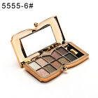 10 Colors Eyeshadow Palette Beauty Makeup Shimmer Eye Shadow with Brush HOT