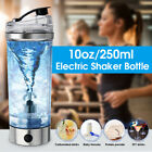 Electric Protein Shaker Bottle Cup Shake Mixer Gym Powder Blender Fitness Sport