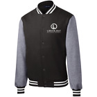 Lights Out Billiards Fleece Letterman Jacket $69.99 USD on eBay