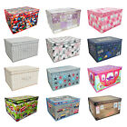 'Clothes Laundry Bedding Toy Storage Box Bag Kids Chest Bedroom Under Bed Tidy