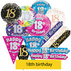 AGE 18 - Happy 18th Birthday Party Decorations (Oaktree) Banners & Bunting