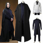 Harry Potter Deathly Severus Snape Cosplay Costume Custom