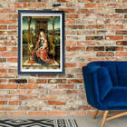 Aelbrecht Bouts - Madonna And Child Enthroned Wall Art Poster Print