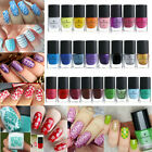 BORN PRETTY 6ml Stamping Nail Polish Green Nail Art Varnish for Stamp Templates