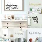Words&phrases Wall Stickers Living Room Home Decor Lettering Vinyl Art Decal