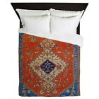 CafePress Antique Persian Bakshaish Oriental Rug Queen Duvet (255108492) image