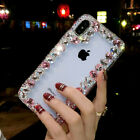 Bling-Crystals-Glitter-Diamonds-Phone-Back-Case-Protective-Covers-For-Alcatel-1