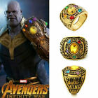 Thanos Infinity Gauntlet Power Ring Avengers The Infinity War Stones Men Ring