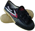 Black Feiyue Shoes Low Top Kung Fu Shoes U080