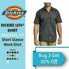 Dickies 1574 Mens Work Shirt Original Fit Button Down Short Sleeve Casual NEW
