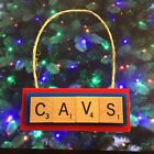 Cleveland Cavs Cavaliers Christmas Ornament Scrabble Tiles Key Chain Magnet on eBay