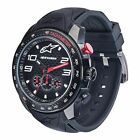 Alpinestars Tech Chrono Watch Black With Black Silicone Strap New RRP £200.00!!