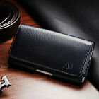 Business Executive Cell Phone Clip Pouch Holder Belt Loop Case Black Texture