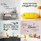 Quote Word Wall Sticker Removable Vinyl Decal Living Room Decor Wall Art Mural