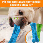 Pet Dog Bone-shape Toothbrush Brushing Chew Toy Stick Teeth Cleaning Oral Care U