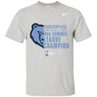 Logo Memphis Grizzlies NBA² Summer League Champion 2019 T-shirt Black-Navy Me... on eBay