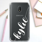Personalized Phone Case For Galaxy J7 / J3 2018 Custom Handwriting Style Text