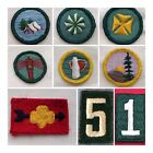 Vintage Girl Scout Patch Badge Safety Arrow Health Camper Hiker No.1 5 Citizen for sale  Ormond Beach