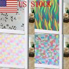 03 US Self Adhesive Glass Film Window Sticker Bathroom Glass Sticker PVC Frosted