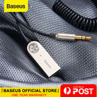 Baseus Wireless Bluetooth 5.0 Transmitter Receiver Car Aux 3.5mm Adapter Cable