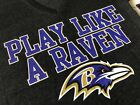NFL Baltimore Ravens Women's Play Like A Raven V-Neck Shirt, NEW on eBay