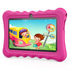 "7"" Android 8.1 HD Quad-Core Tablet PC 1+8GB Wi-Fi BT 2*Cam Bundle Case For Kids"