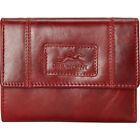 Mancini Leather Goods RFID Secure Small Clutch Wallet Women's Wallet NEW