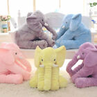 Elephant Plush Pillow Baby Sleeping Back Cushion Baby Stuffed Animal Toys Gifts