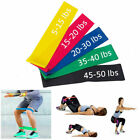 Set Resistance Exercise Loop Bands Home Gym Fitness Premium Natural Latex image