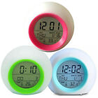 7 Colors Changing LED Digital Alarm Clock Snooze Home Decor For Boys Girls Gifts