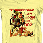 James Bond T-shirt 007 Thunderball Sean Connery vintage movie 1970's cotton tee $19.99 USD on eBay
