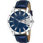 Fashion Premium Black Dial & Blue Dial Working Day & Date Analog Wristwatch image
