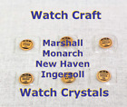 Watch Craft Ingersoll Marshall Monarch New Haven  Glass Crystals  - Pick 1 NOS image