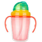 Baby+Infant+Leak-proof+Drinking+Bottle+Training+Sippy+Cup+With+Handle+LA