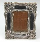 Signed Industria Peruana 925 Sterling Silver Photo Photograph Picture Frame NR