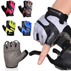 Cycling Gloves Shock-absorbing Breathable Half Finger Bicycle Riding Gloves 03