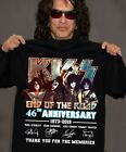 KISS Band T-Shirt End of the Road Farewell Tour 2019 Anniversary Gift Men/Women image