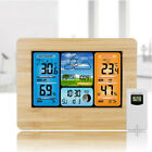 Digital LCD Indoor  Outdoor Weather Station Clock Calendar Thermometer