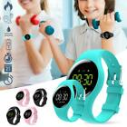 Smart Watch Wrist Band Counter Vibrating Alarm Clock Sport Health Step Bracelet