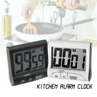 Kitchen Cooking Timer Count-Down Up Large LCD Digital Clock Loud Alarm Magnetic