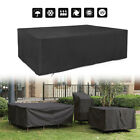 Extra Large Garden Rattan Rattan Table Cube Outdoor Uv Outdoor Furniture Cover