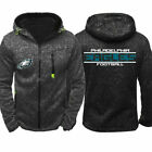 2019 Philadelphia Eagles Fan Hoodie Sporty Jacket Sweater Zip Coat Autumn Tops $23.99 USD on eBay