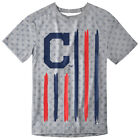 Cleveland Indians Big Logo Flag Tee by Forever Collectibles on Ebay