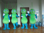 Halloween Lovely Green Ant Mascot Costume Cosplay Party Clothing Carnival Adults