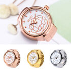 Quartz Analog Watch Creative Steel Cool Elastic Quartz Finger Ring Watches ST image